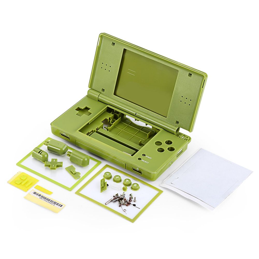 generic full repair parts replacement housing shell case kit for nintendo ds lite ndsl dsl. Black Bedroom Furniture Sets. Home Design Ideas