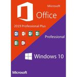 Microsoft Windows 10 Pro Key + Office Pro Plus 2019 ...