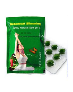 MZT Green Botanical Slimming Soft Gels - 36 capsules | Buy ...