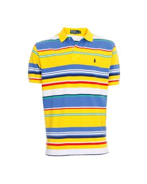 Home FASHION BY JUMIA RALPH LAUREN Yellow And Blue Striped Polo