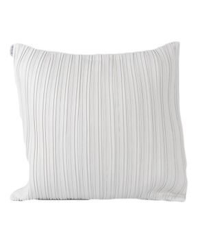 Oversized White Decorative Pillows : Sirocco Striped Decorative Pillow - Large - White Buy online Jumia Kenya