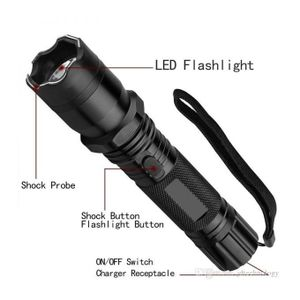 Self-Defense, Electric Torch Safe Shock & Laser Pointer