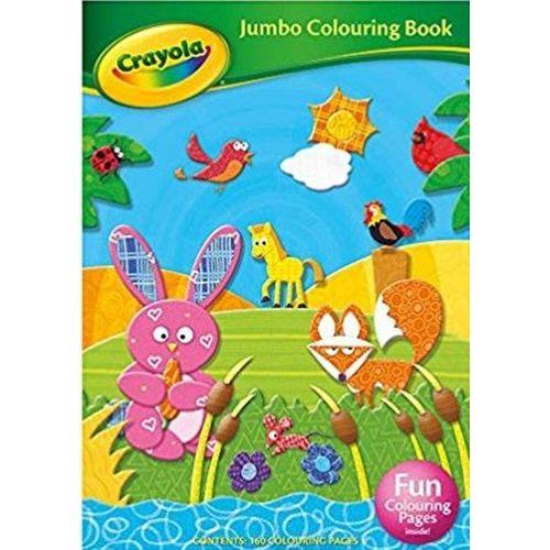 Crayola - Jumbo Clrng Bk
