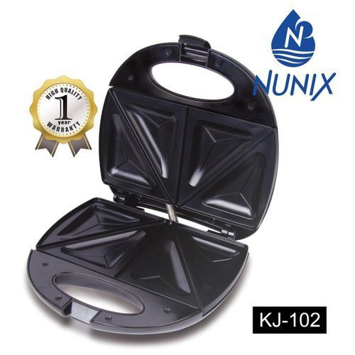 Nunix Sandwich Maker KJ-102 in Kenya 0.5kg, Black