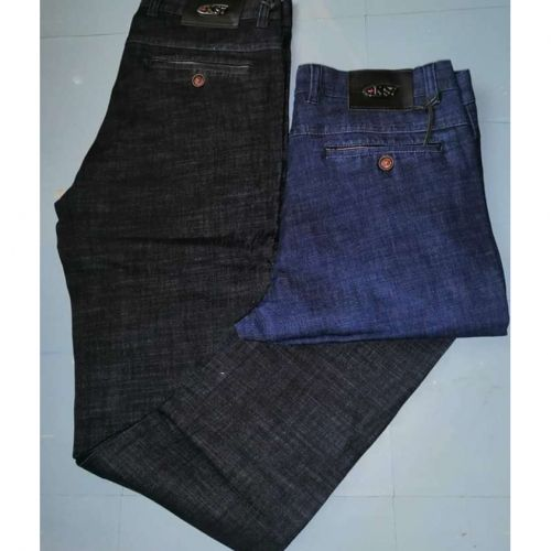 Fashion 2 Pack Men Soft Jeans - Blue And Black @ Best Price Online | Jumia Kenya