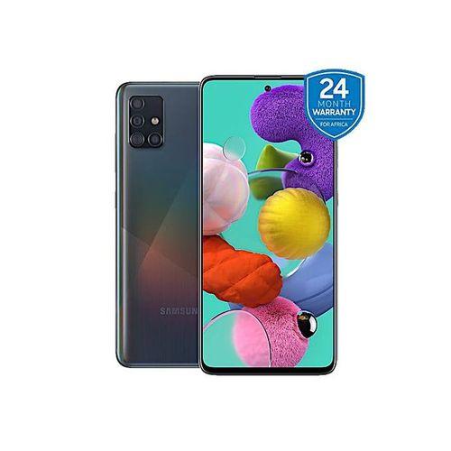 "Galaxy A51 - 6.5"", 4GB + 128GB (4G Dual SIM) - Prism Crush Black"