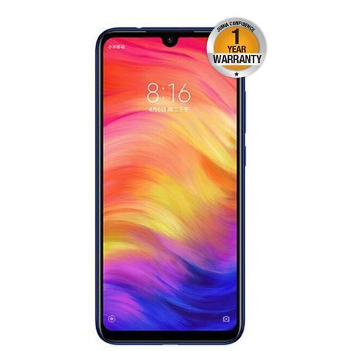 Redmi Note 7 6.3 Inch 3GB RAM 32GB ROM Smartphone 48MP-Blue..