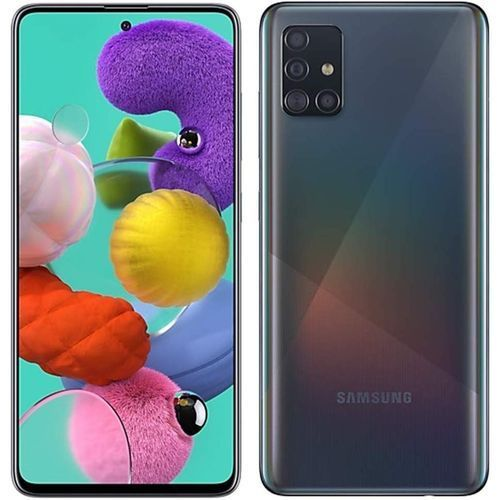 "Galaxy A51, 6.5"", 4GB + 128GB (Dual SIM), Prism Crush Black"