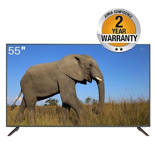 "55"", UHD Smart TV - Black"