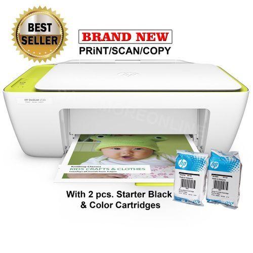 HP DeskJet 2130, Color Scan, Print, Copy- White. @ Best ...