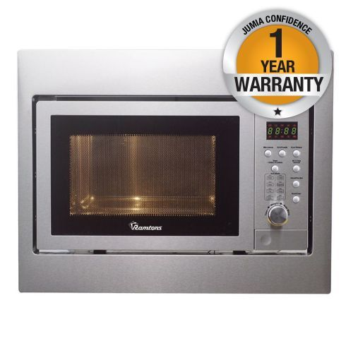 RM/311 - 25LTS Built-In Microwave + Grill - Silver