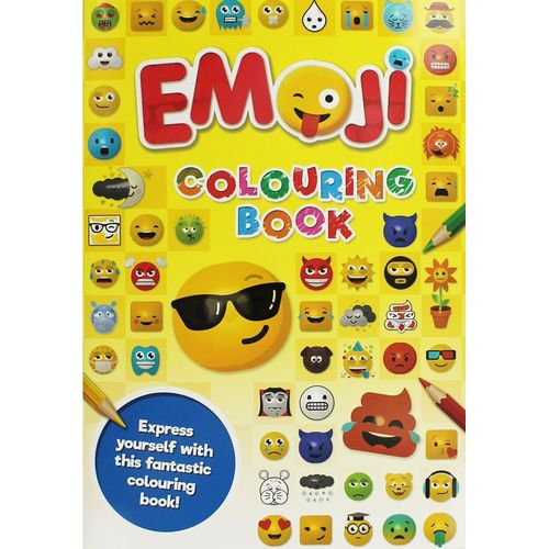Emoji Colouring Bk(Yellow)