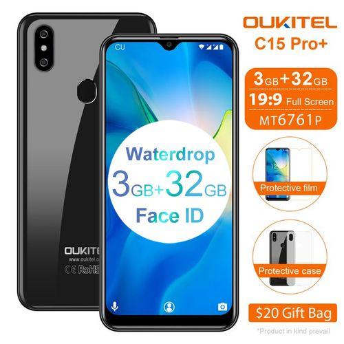 C15 Pro+ 6.088'' 3GB 32GB 4G Smartphone Fingerprint Face ID