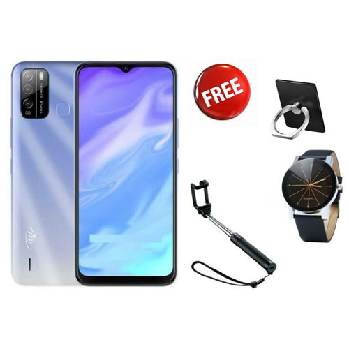 """S16,Android,16GB+1GB 6.5"""", 4000Mah, Blue + FREE GIFTS INCLUDED"""