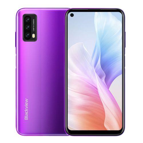 A90 4GB+64GB 4280mAh 6.39 Inch Android 11.0 4G Smartphone-Purple