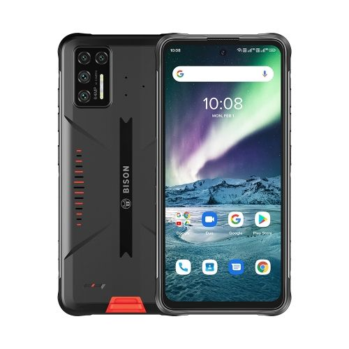 BISON GT Rugged Phone, 8GB+128GB, 6.67 Inch Android 10, Network: 4G - Orange