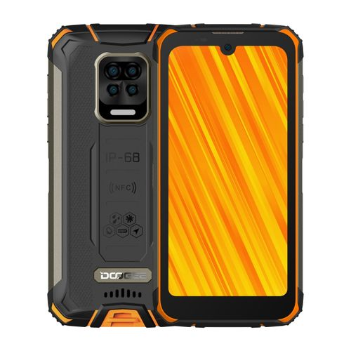 S59 Pro Rugged Phone, 4GB+128GB, 5.71 Inch Android 10 Smartphone - Orange