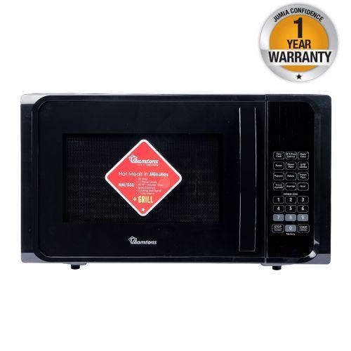 Ramtons Microwave RM/550 in Kenya 23 LITRES MICROWAVEGRILL BLACK