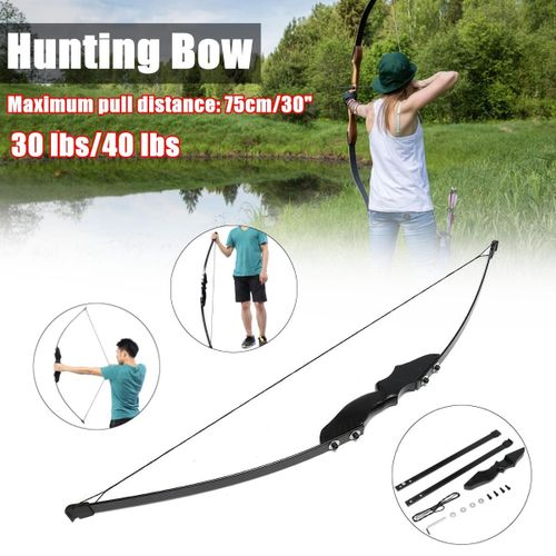 30/40lbs Hunting Recurve Bow Archery Right Hand S 30 Pounds