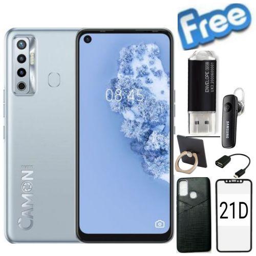 Camon 16s, 4GB/128GB-48MP-5000mAh-4G-(Dual Sim)-ice Jadeite+ Free Gifts