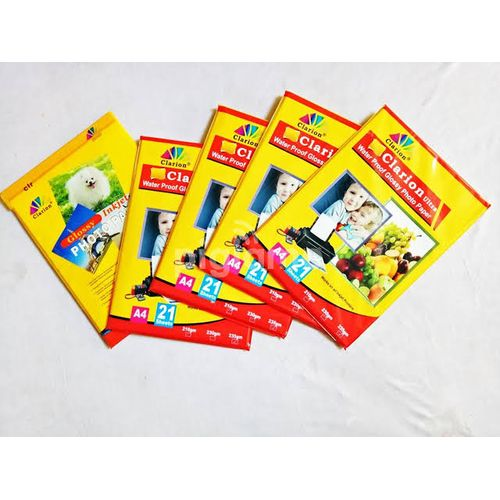 Water Proof Glossy Photo Paper - A4