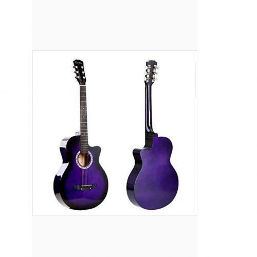 Cowboy Acoustic Guitar Medium Size 38 6 Strings Purple Colour Best Price Online Jumia Kenya