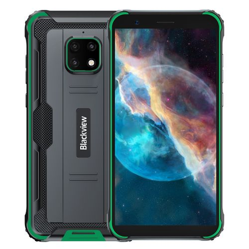 BV4900 Pro Rugged Phone, 4GB+64GB, 5.7 Inch Android 10.0,Network: 4G(Green)