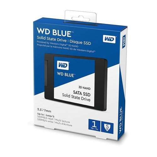 "SSD WD Blue 3D NAND 1TB PC - SATA III 6 Gb/s 2.5""/7mm"