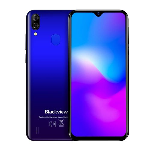 A60 Plus, 4GB+64GB, 6.088 Inch Android 10, 4G Smartphone - Gradient Blue