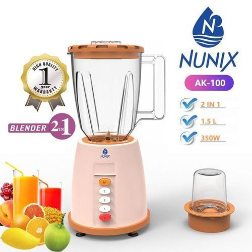 AK-100, 2 In 1 Blender With Grinding Machine, 1.5L