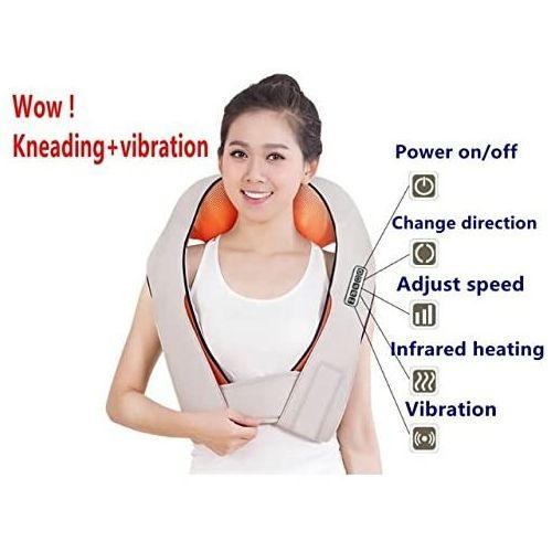 Generic Neck & Back Massage Kneading Full Body Massager Heat AC And Car  Adapter By Prosmart @ Best Price Online | Jumia Kenya
