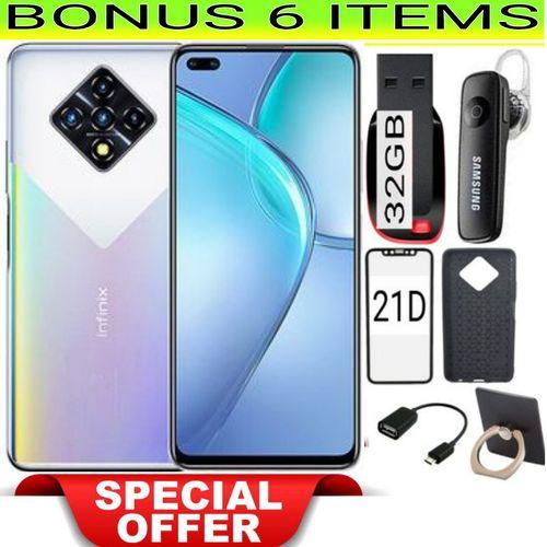 "Zero 8, 6.85""-8GB/128GB-64MP-4500MAH-DUALSIM-Silver+FREE GIFT"