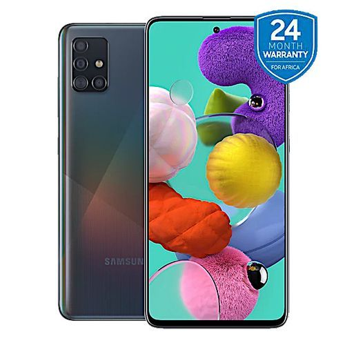 "Galaxy A51 - 6.5"", 4GB + 128GB (4G Dual SIM) - Prism Crush Black"