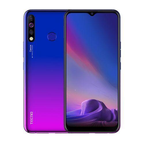 """Camon 12, 6.52"""", 64 GB + 4 GB, (Dual SIM) - Dawn Blue"""