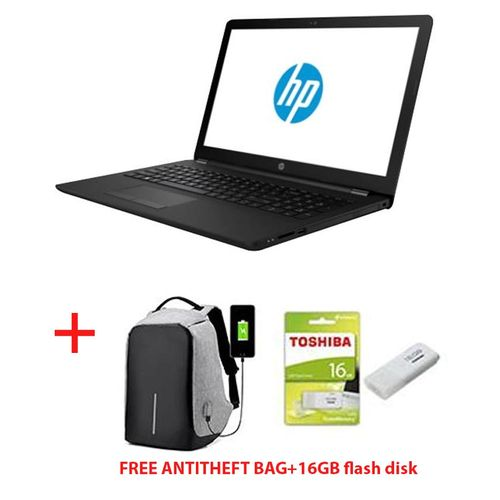 "15-ra008nia-15.6""-WINDOWS 10+MS OFFICE+AVG ANTIVIRUS-Intel Celeron-4GB RAM-500GB HDD-Black+FREE ANTI-THEFT BAG+FREE 16GB FLASH DISK"