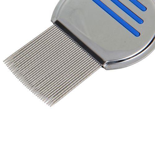 product_image_name-Eissely-Terminator Lice Comb Hair Rid Headlice Stainless Steel Metal Teeth-1