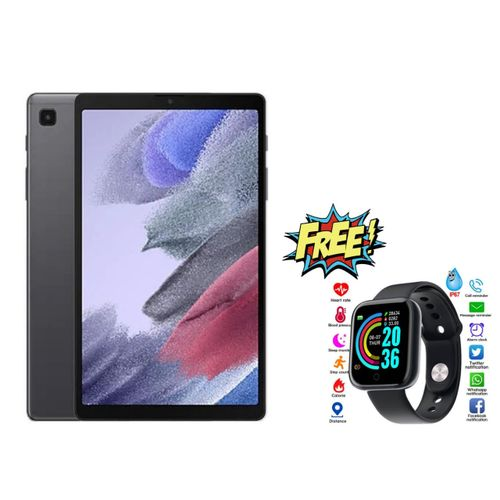 "Galaxy Tab A7 Lite Tablet- 8.7"" ,3 +32GB, 5100 MAh, Single Sim- Gray + Watch..."