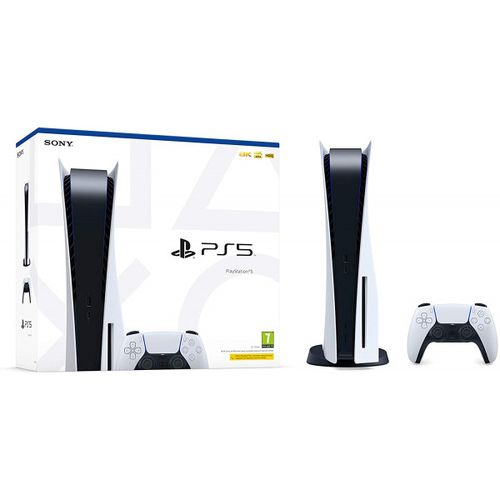 PLAYSTATION 5 CONSOLES,120HZ MOTION RATE, 825GB, 3D AUDIO
