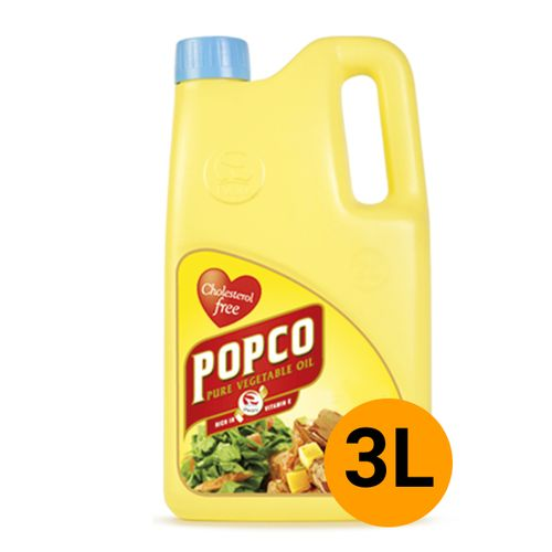 Premium Refined Vegetable Cooking Oil - 3L