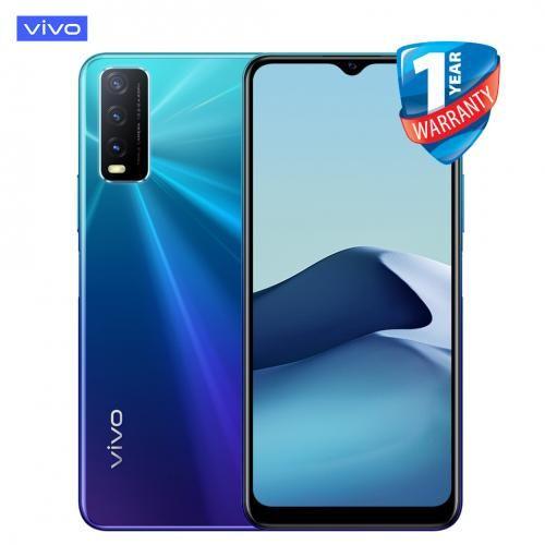 Y20, 6.51'', 64 GB + 4 GB (Dual SIM) - Nebula Blue