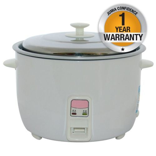 RAMTONS Rice Cooker RM/336 in Kenya WHITE, RICE COOKER + STEAMER
