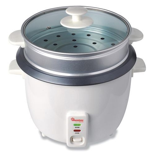RAMTONS Rice Cooker RM/289 in Kenya WHITE, RICE COOKER + STEAMER