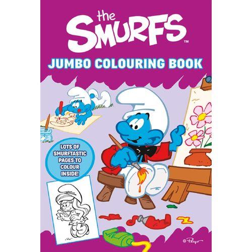Smurfs Jumbo Col.book