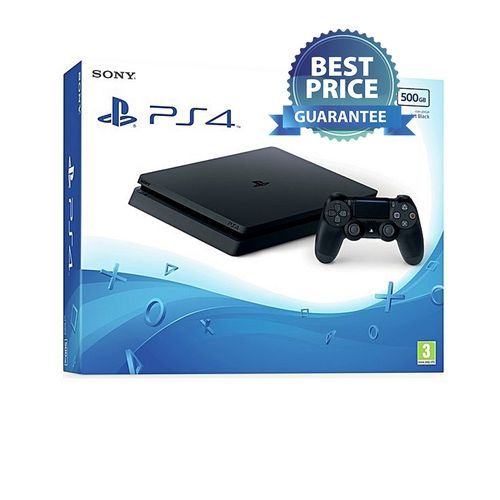 PS4 Slim Console - 500GB - Black
