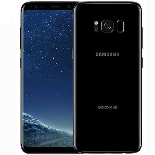 "Galaxy S8 5.8"" 64GB 4GB RAM 12MP- SINGLE SIM - Midnight Black"