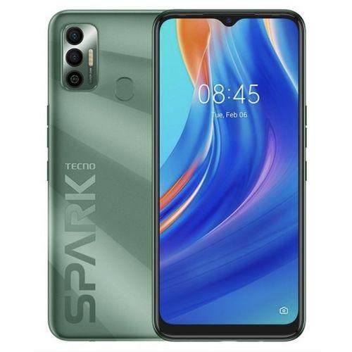 """Spark 7, 6.5"""", 64GB + 3GB RAM (Dual SIM), 5000mAh, 4G,Spruce Green"""
