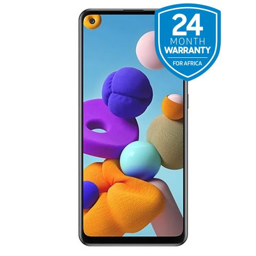 "Galaxy A21s, 6.5"", 64GB + 4GB RAM (Dual SIM), 4000 MAh, Black"