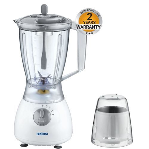 BBP-1535PSG - Blender & Grinder - 350W - 1.5L - Grey & White