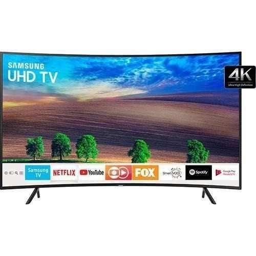 UA49NU7300K- 49'' - UHD 4K Curved Smart LED TV - HDR - Black