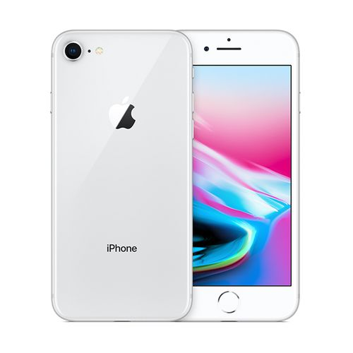 IPhone 8 4.7-Inch HD (2GB,64GB ROM) IOS 11, 12MP + 7MP 4G Smartphone - Silver